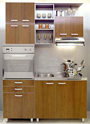 Yes Kitchen Compact Smart Kitchen Length 5 Width 2 Feet And Height 7