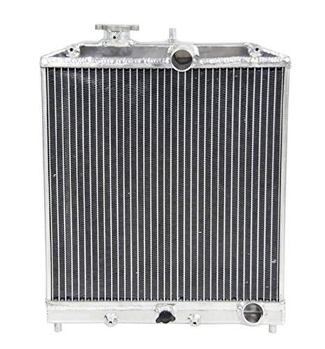 Honda Del Sol Ac Cooling (Primecooling 2 Row Dual Core Aluminum Radiator for Acura Integra /Honda Civic Del Sol EJ EK EG DB DC 1992 -01 (Manual Transmission))