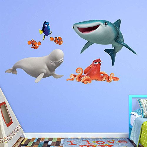 Fathead Peel and Stick Decals Disney Finding Dory RealBig Collection