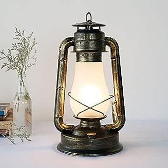 Estudio clásico retro lámpara de queroseno escritorio antiguo ...