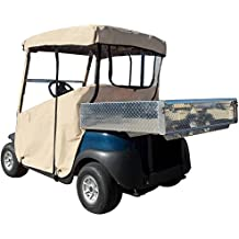 DoorWorks 3-Sided Over-The-Top Golf Cart Cover - Sunbrella Canvas