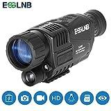 ESSLNB Night Vision Monocular 5X40 Night Vision Infrared IR Camera HD Digital Vision
