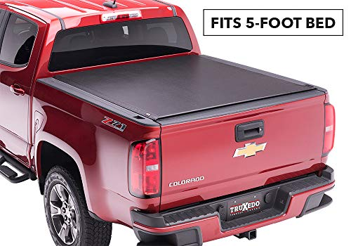 TruXedo Lo Pro Soft Roll-up Truck Bed Tonneau Cover | 549801 | fits 15-19 GMC Canyon & Chevrolet Colorado 5' Bed