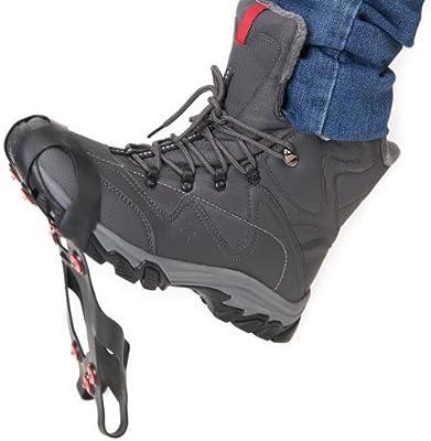 Ultrasport Suelas antideslizantes para hielo y nieve, color negro, talla 36-40: Amazon.es: Deportes y aire libre