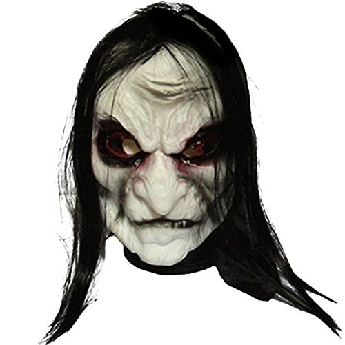 Cityeast Halloween Costume Party Masks Masquerade Mask Grimace Ghost Mask Scary Mask (Zombie)