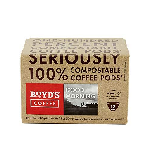 Boyd's Good Morning Coffee - Medium Roast - Single Cup (12 Count) from Boyd's Coffee