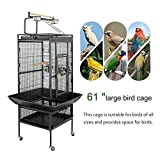 ZENY 61 Pet Bird cage Large Play Top Parrot Cockatiel Cockatoo Parakeet Finch Pet Supply Larger Image