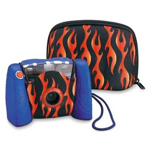 Kid-Tough Digital Camera Case - Flames ()