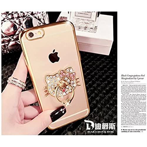 S7 edge Ring Case,MAX-BLV Galaxy s7 edge Luxury Bling Rhinestone Crystal 360 Degree Rotating Ring Stand TPU case Sales