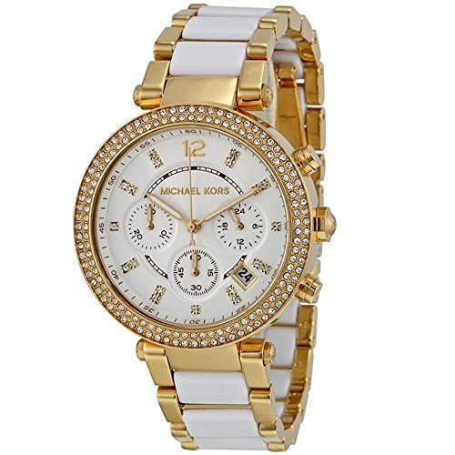 Michael Kors Ladies Parker Chronograph Analog Sport Quartz Watch (Imported) MK6119