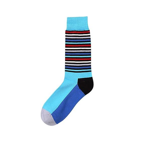 BBsmile-Calcetines Calcetines deportivos casuales Hombre cuadros Calcetín de algodón color block Diamante colorido Calcetín casual: Amazon.es: Ropa y ...