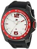 Tommy Hilfiger 1790854 Sport Black IP Silicon Watch