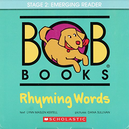 Bob Books: Rhyming Words (Make A Word With The Letters Listed)