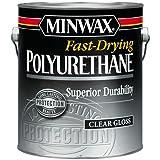 Minwax 71030000 Fast-Drying Polyurethane, gallon, Gloss