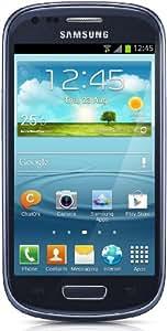 "Samsung Galaxy S III mini (I8190) - Smartphone libre Android (pantalla 4"", cámara 5 Mp, 8 GB, Dual-Core 1 GHz, 1 GB RAM), azul"