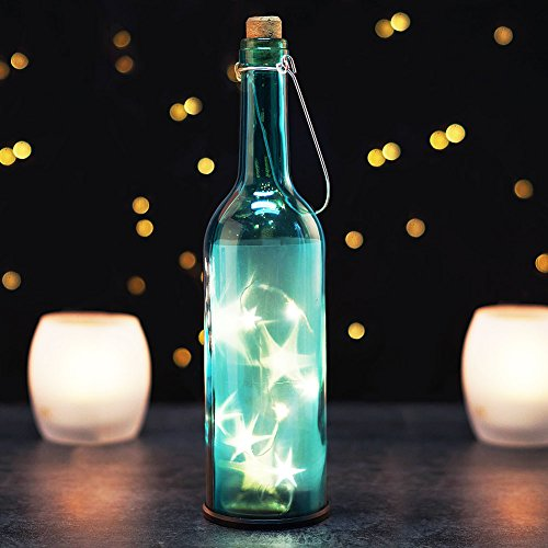 BRIGHT Decorative Bottles Bordeaux Transparent