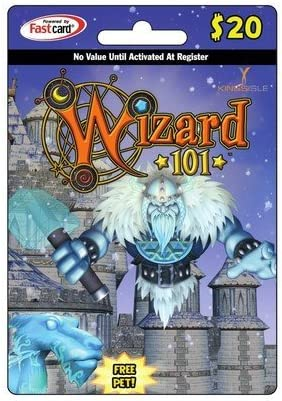 Wizard 101 Prepaid Points $20 Including a Free     - Amazon com