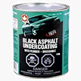OEM Approved Brushable Asphalt-Bitumen Base Undercoating - Gallon