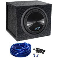 Alpine Type-E SWE-12S4 12 750w Car Subwoofer + Atrend Sealed Sub Box Enclosure