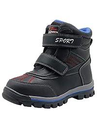 Apakowa Super Warm Waterproof Hiking Snow Boots (Toddler/Little Kid)