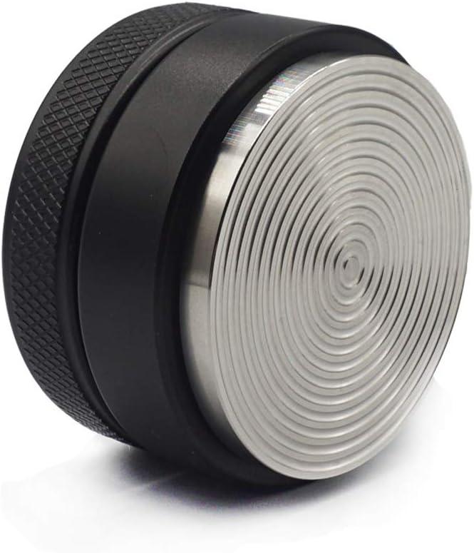 Yolococa Distribuidor de Café Coffee Leveling Tool Acero Inoxidable Prensadores de Espresso 53 mm