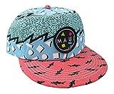 Maui & Sons Men's Sup Brah Flip up Snapback Hat (Blue, One Size)