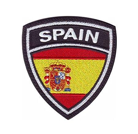 MAREL Patch Flag Bandera España (Spain) Parche termoadhesivo ...