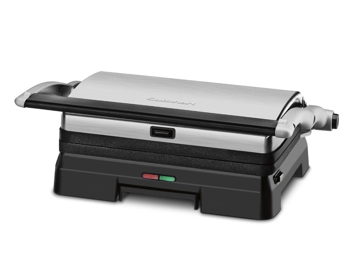 Cuisinart GR-11FR Cuisinart GR-11FR Griddler 3-in-1 Grill and Panini Press (Certified Refurbished), Black