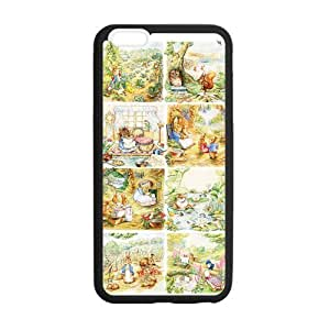 [Accessory] iPhone 6 Plus Case, [peter rabbit] iPhone 6 Plus (5.5) Case Custom Durable Case Cover for iPhone6 TPU case(Laser Technology)