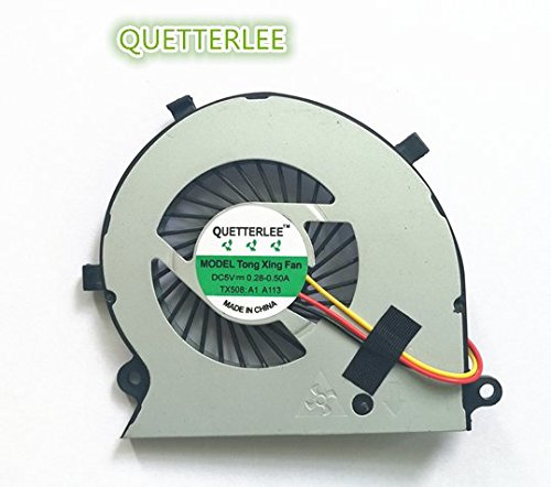 New Laptop CPU Cooling Fan For Toshiba Satellite Radius P55W-B P55W-B5112 P55W-B5318 P55W-B5220 P55W-B5224 Series -  QUETTERLEE, TX-P55W-B