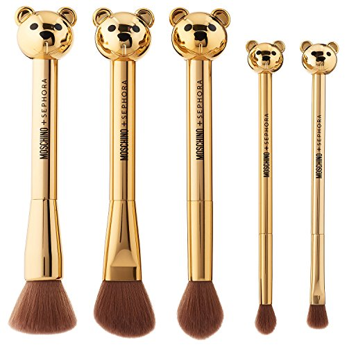 MOSCHINO + SEPHORA NIB Makeup Bear Brush Set by MOSCHINO