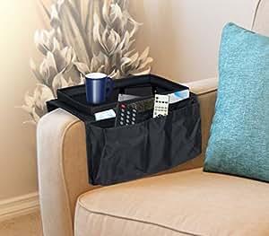 Organizador de mandos y bandeja para sofa mws - Organizador de mandos ...