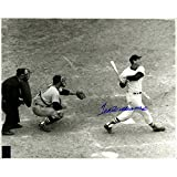 Ted Williams Signed Black and White Last at Bat 16x20 Photo (Green Diamond Auth)