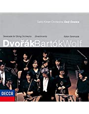 Bartok: Divertimento/Dvorak: Serenade For Strings/Wolf: ItalianSerenade(UHQCD)