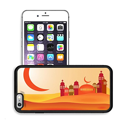 Luxlady Premium Apple iPhone 6 Plus iPhone 6S Plus Aluminum Backplate Bumper Snap Case IMAGE ID 30752095 Abstract view of Mosque or Masjid (Month Of The Freezing Moon compare prices)