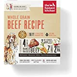 Honest Kitchen The Human Grade Dehydrated Organic Grain Beef Dog Food, 4 lb - Verve