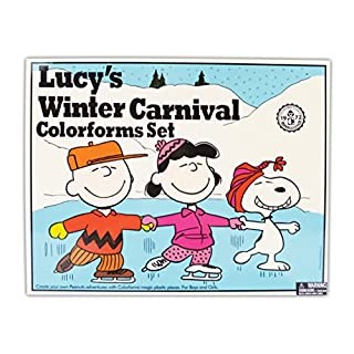 Colorforms Classics Lucy's Winter Carnival (2111Z)
