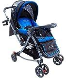 Notty Ride Rocking Baby Pram (Blue)