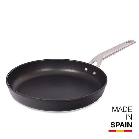 Valira Ind Aire Sartén, Aluminio, Negro, 30 cm