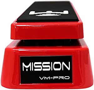 Mission Engineering VM-PRO Volume Pedal Pro with Buffer - red
