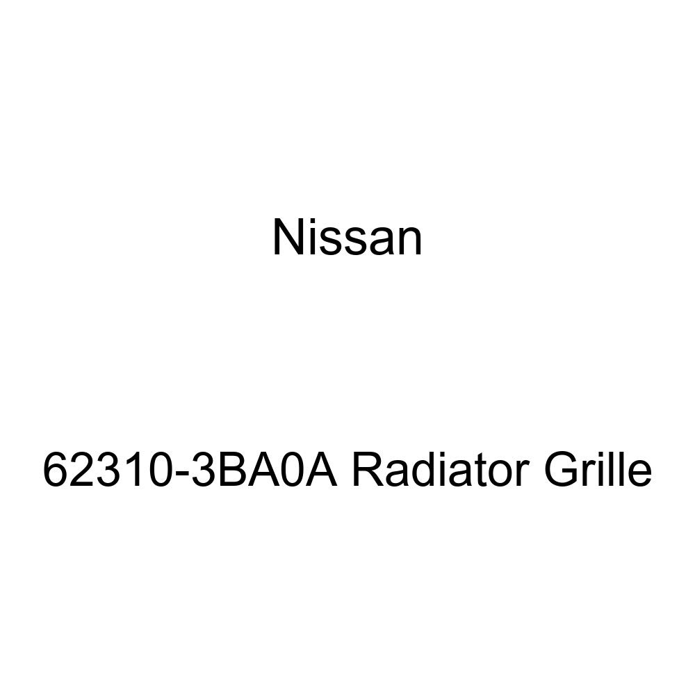 Genuine Nissan 62310-3BA0A Radiator Grille