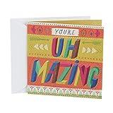 Health & Personal Care : Hallmark Studio Ink Birthday Greeting Card (Uh Mazing)