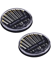 Hand Sewing Needles, 60 Count Assorted Sizes Embroidery Mending Craft Quilt Handle Sewing Needle Set with Srorage Case