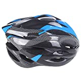 EverTrust(TM)2014 Sports Carbon Fiber Mountain Road Bike Bicycle Cycling Safety Helmet with Visor Adult for Outdoor Hiking