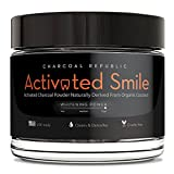 Activated Smile Natural Teeth Whitening Charcoal Powder - Best Activated Charcoal Teeth Whitener - Made in USA - Perfect for Healthier, Whiter Teeth the Natural Way