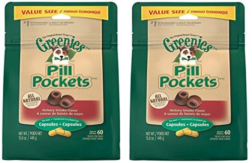 GREENIES Pill Pockets Treats for Dogs 15.8oz Value Packs by Greenies