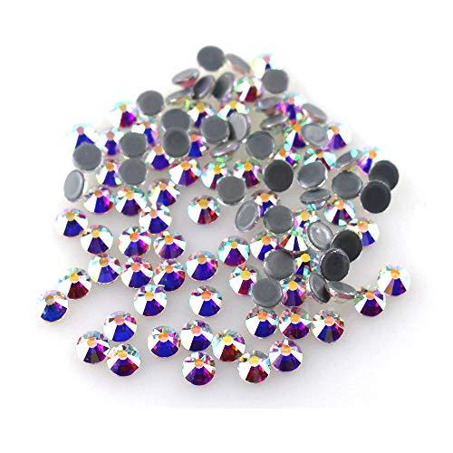 Quality Rhinestone - ACESTASS Premium Grade Hotfix Rhinestone Crystal Flatback Gems for Costume Dress Nail Art Crafts (Crystal AB,5mm SS20 1440pcs)
