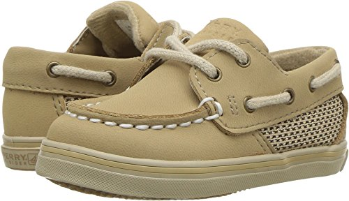 Sperry Top-Sider Intrepid Crib 10/25 Boat Shoe (Infant/Toddler),Linen/Oat,3 M US Infant
