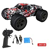 Outsta Radio Remote Control Car, Multiplecolor 2.4GHz High Speed RC Racing Car 4WD Remote Control Truck Off-Road Buggy Toys Truck Vehicle Electric Cars Gift for Boys (Multicolor-C)