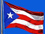 New Huge 4X6 Ft Puerto Rico State Of Flag
